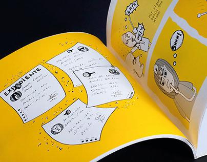 Graphic Novel 'El Mal Blanco'.