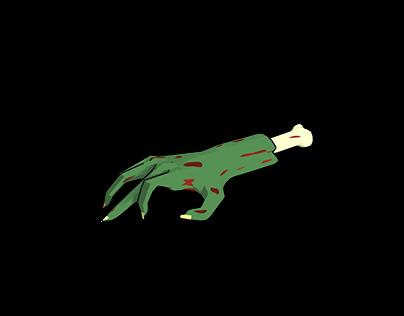 Zombie animation