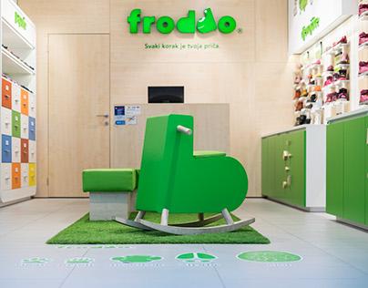 New Froddo shoe store concept