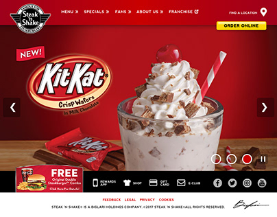 Restaurant Chain Website