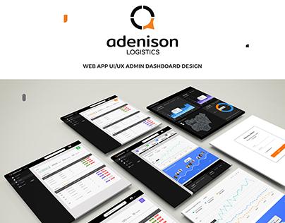 ADENISON LOGISTICS ADMIN DASHBOARD UI/UX DESIGN.
