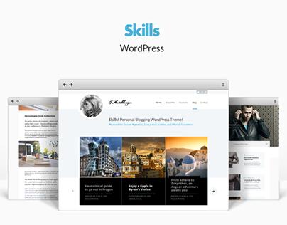 Skills - Responsive WordPress Blog Theme