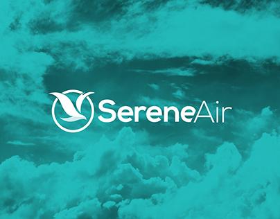 Airline Branding — Serene Air