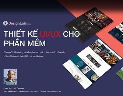 Hồ sơ năng lực Design Lab - Thiết kế và đánh giá UI/UX