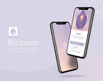 Blossom - Aplicación para la donación de leche materna