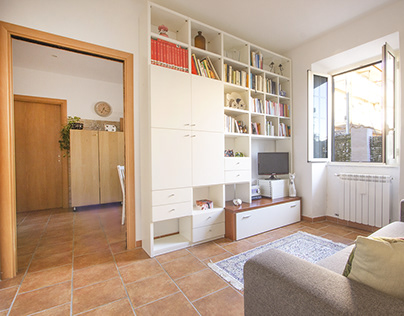 a small apartment in Rome