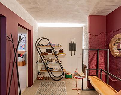 Ateliê Hall - Casa Design 2018