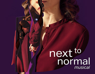 NEXT TO NORMAL - KEY VISUAL & POSTER FOR SYRENA Theatre