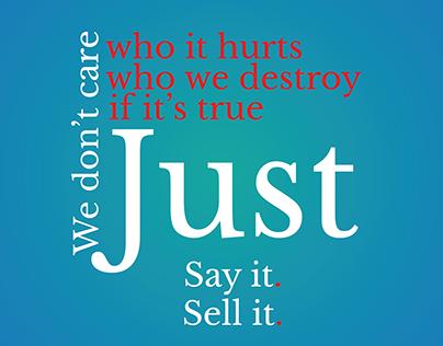 Kinetic Typography - Fake News | Denzel Washington