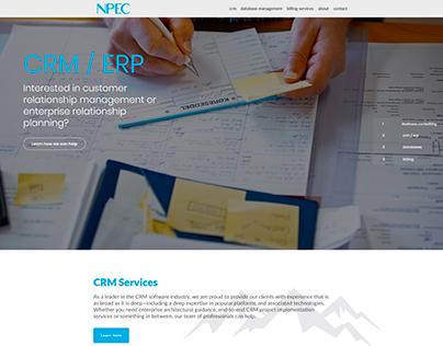 NPEC Site Design