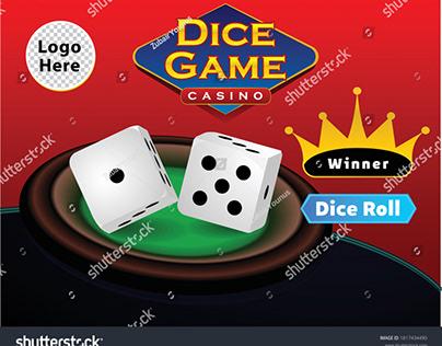 Dice Game vector Ui