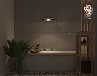 3D BATHROOM VISUALIZATION