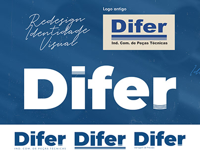Redesign Identidade Visual Difer