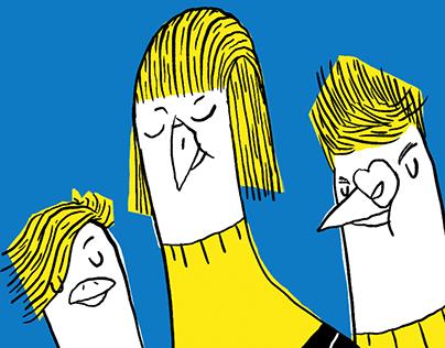 Pássaros silvanos