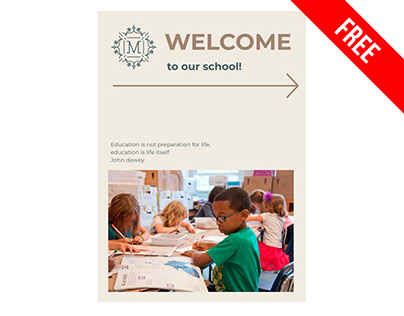 Education Booklet - free Google Docs Template