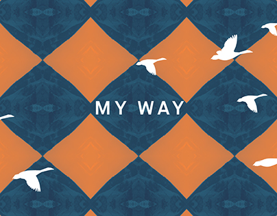 Calvin Harris - My Way - Lyric video : Motion design