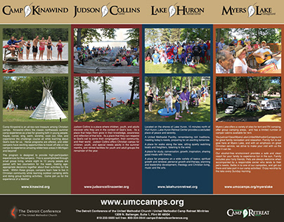 Detroit Conference United Methodist Camps poster