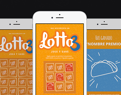 Lotto 3 - UI/UX App Design
