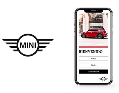 MINI Cooper App Official Ux/Ui