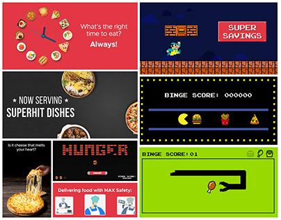 CRM Marketing - GIFs for Zomato
