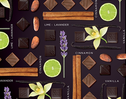 Galler Poster 4 new chocolates