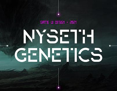 Nyseth Genetics - Games UI Interfaces