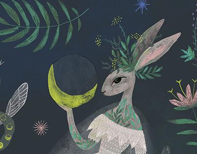 Midnight Tea Illustration
