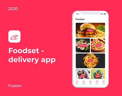 Foodset Delivery App