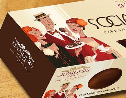Luxury Biscuit Packaging.