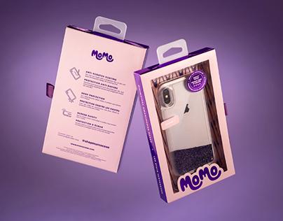 Momo Smartphone Case Packaging