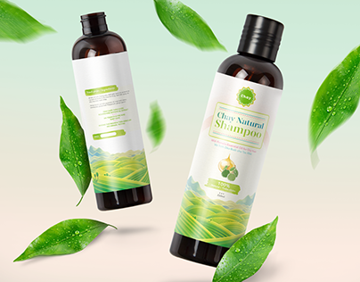Natural Shampoo Packaging - Pomelo Essential Oil