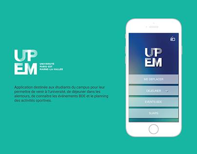 UPEM : app mobile pour les étudiants du campus