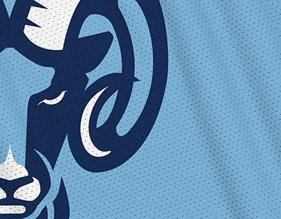 Rhode Island Rams rebrand concept