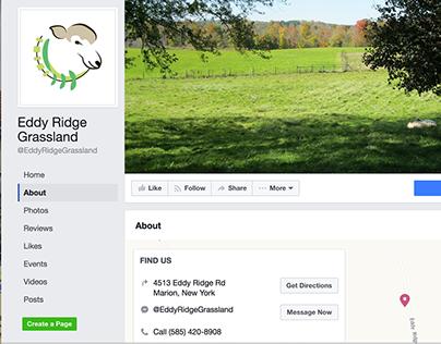 Eddy Ridge Grassland Logo