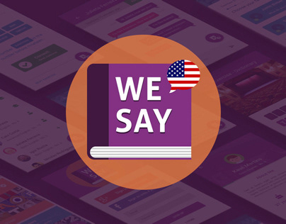 We Say - The app to learn English