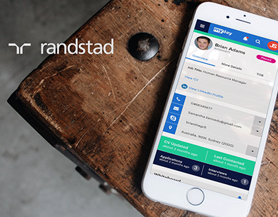 randstad web application