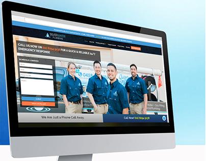 Silverwater Plumbing-Branding and Responsive Web Design