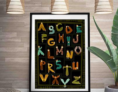 Acro Alphabet