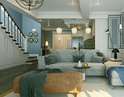 New Classic Reception ( Interior Design)