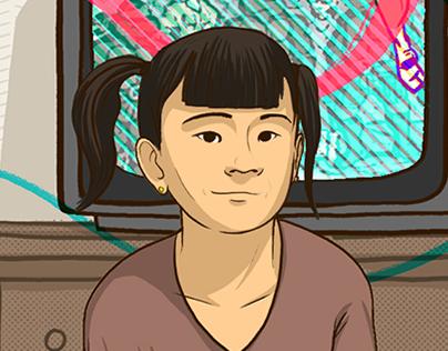 UAlberta Canada 150 - Feature story illustrations