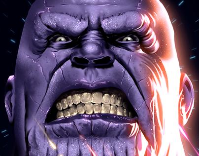 Thanos - Digital Illustration
