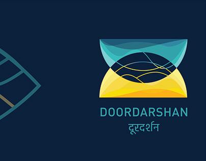 DOORDARSHAN - Identity design