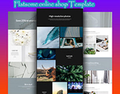 Flotsam online shop website Design