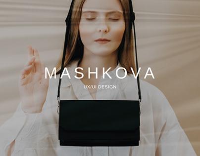 MASHKOVA — Website