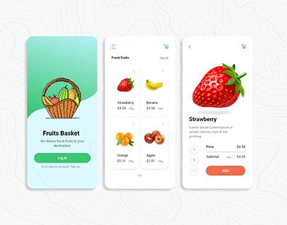 Fruit Basket App