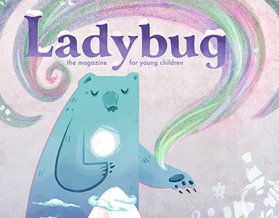 Ladybug Winter Magazine