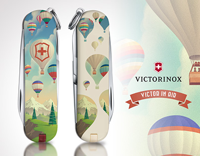 Victorinox / Victor in air