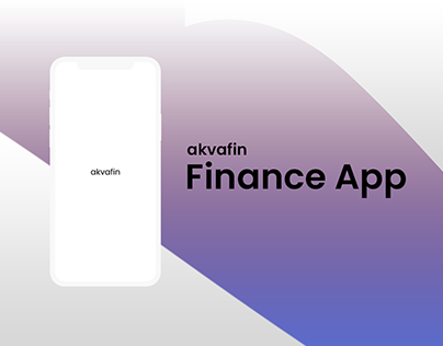 akvafin Finance App