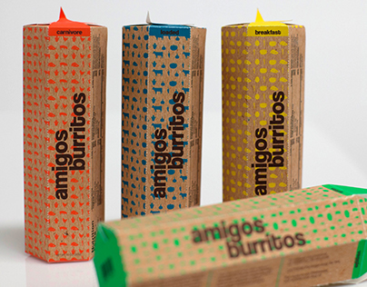 Amigos Burritos Packaging