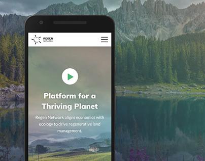 UI / UX Design for Regen Network